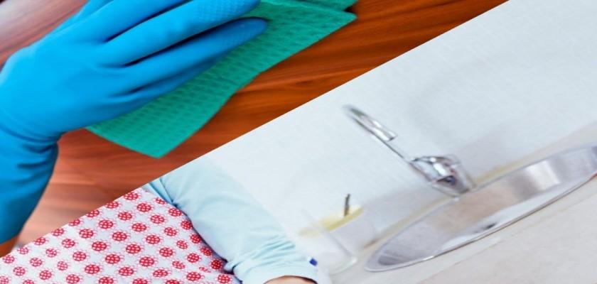 Mutfak Dolabında Oluşan Yağ Lekeleri Nasıl Çıkarılır?