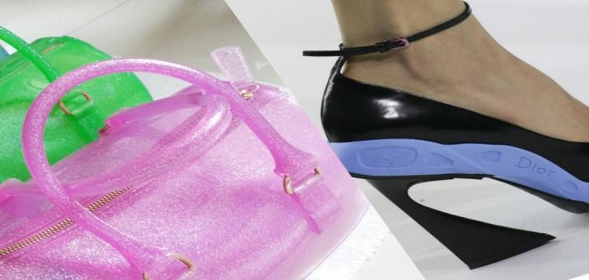 Yeni Moda; Plastik Topuklu Ayakkabılar